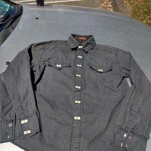 Louis Vuitton long sleeve collar dress shirt